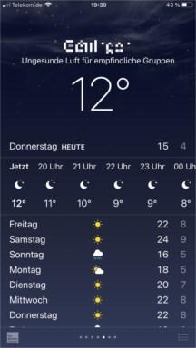Hessen Wetter App