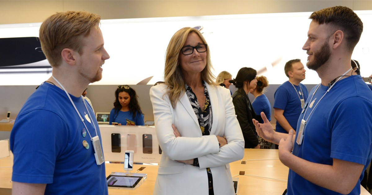 wie ein nicht techie apple bl hen l sst 5 jahre angela ahrendts news. Black Bedroom Furniture Sets. Home Design Ideas