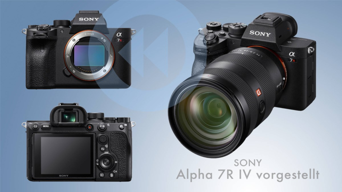 Sony a7R IV: Spiegellose Vollformatkamera mit 61 Megapixeln vorgestellt