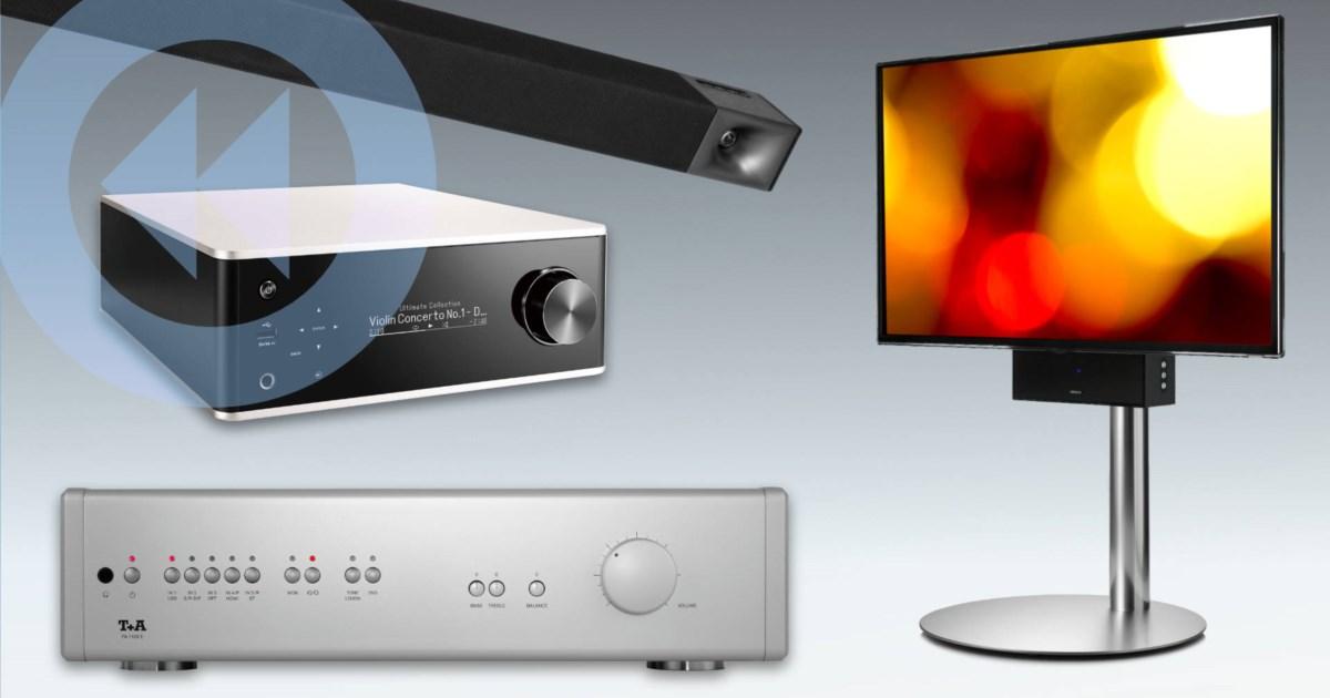 TechTicker: Denon Streaming-Amp, Klipsch Surround-Lösungen