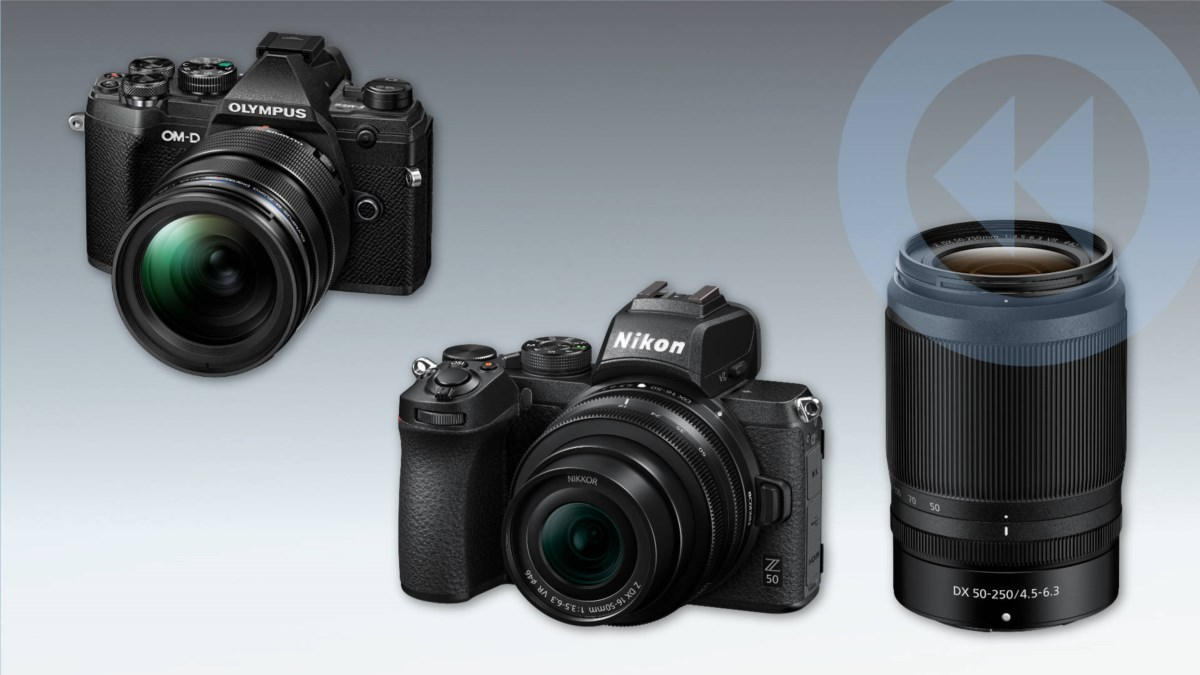 Kompakte Systemkameras: Olympus OM-D E-M5 Mark III und Nikon Z50 (APS-C) vorgestellt