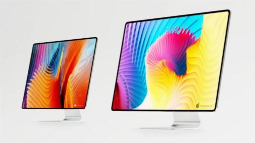 iMac 2021 mit Apple Silicon: Renderbilder zeigen nahezu ...