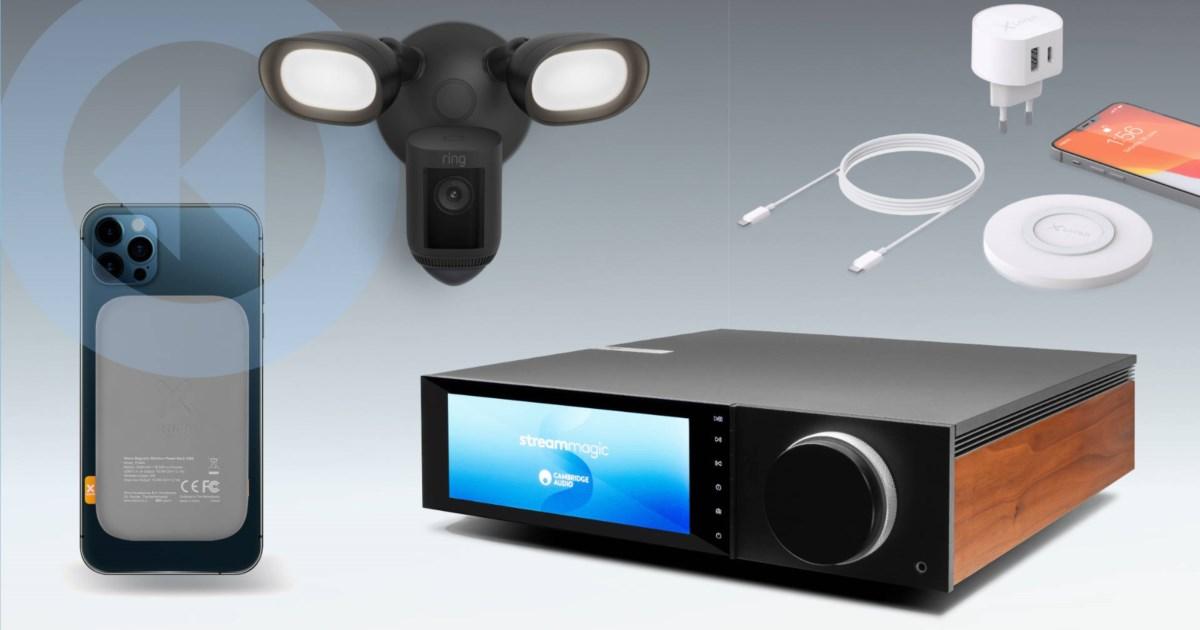 TechTicker: Cooler Streaming-Amp von Cambridge Audio, magnetisches Akkupack für iPhone, Ladeset von Xlayer und mehr